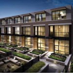 Townhomes & private courtyard