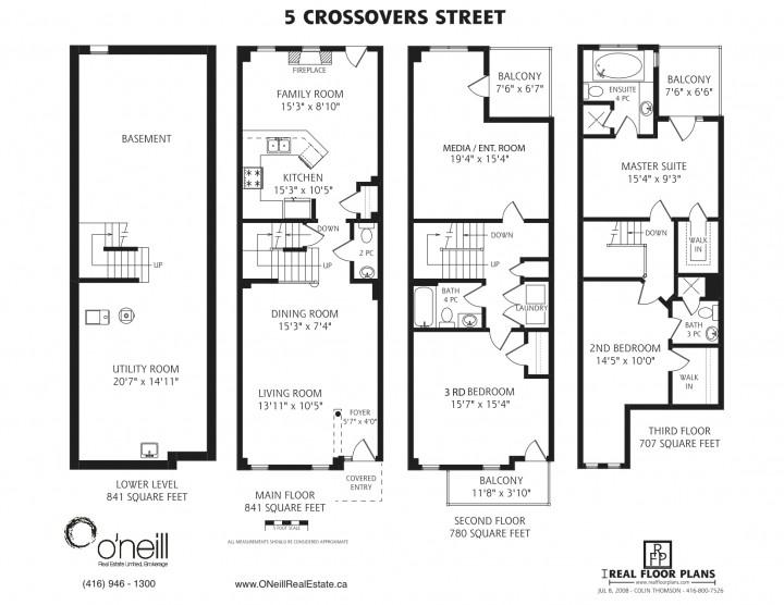 5 Crossovers Street Floor Plan