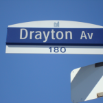 Drayton Ave Sign