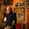 Rudi Sagl poses for portrait among the treasures of his past now hanging in a modest Mississauga home.