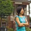 Toronto tenant Pauline Hwang stands in front of 237 Roxton Road
