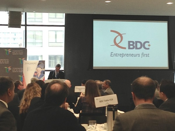 BDC Luncheon at BOT Oct 21 2014 - small