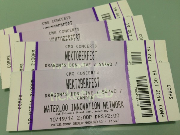 Wektoberfest 2014 Tickets